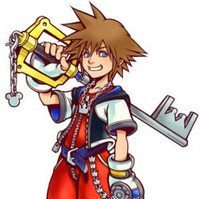 Sora Keyblade Kingdom Hearts Noricias Anime United