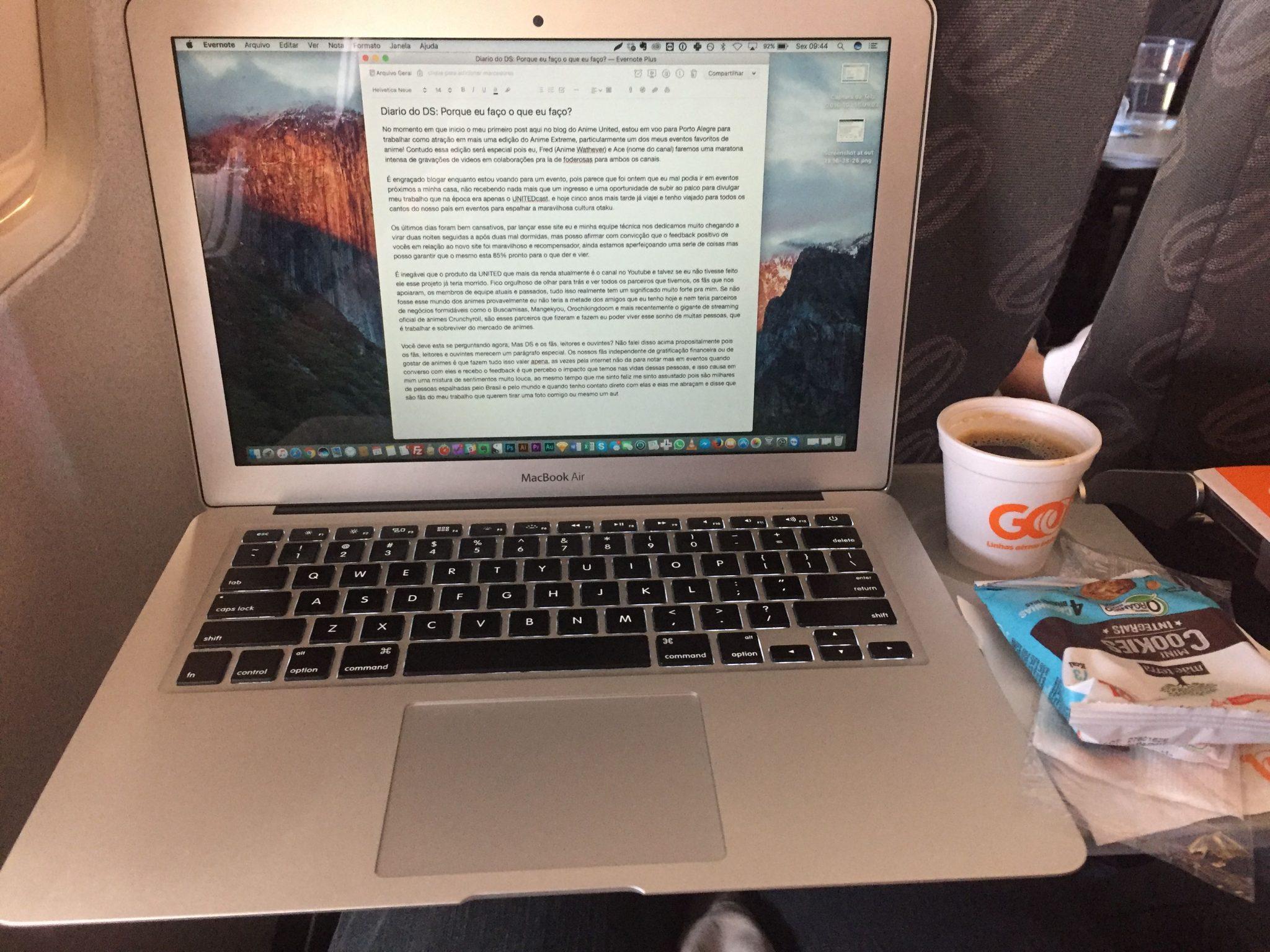 Blogando em Voo Dalton Silveira