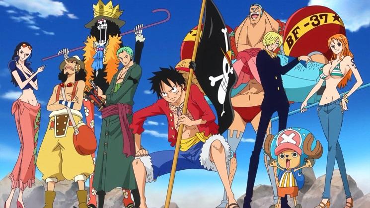 One Piece / Mangás mais vendidos da semana