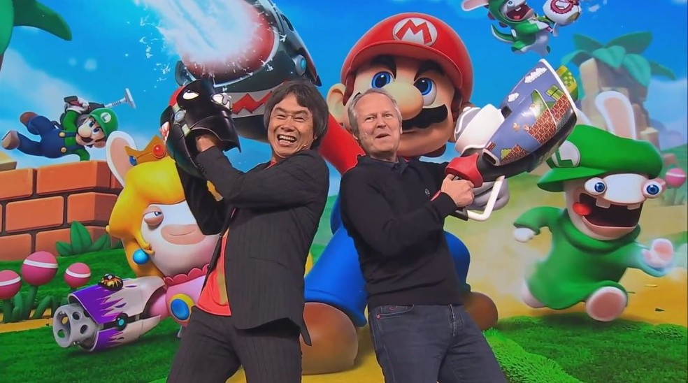 © Shigeru Miyamoto ©Yves Guillemot