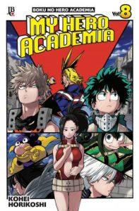 My Hero Academia Volume 08