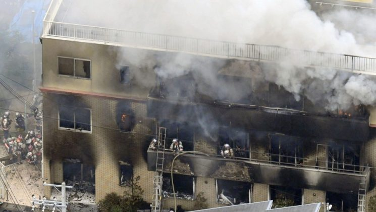 Kyoto Animation- incêndio