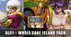 © One Piece: Pirate Warriors 4 DLC 'Whole Cake Island Pack'