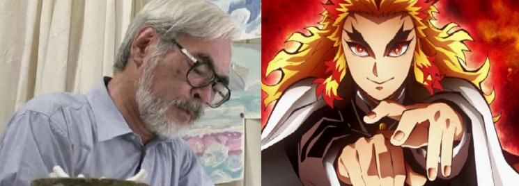 Hayao Miyazaki - Kimetsu no Yaiba. Infinity Train