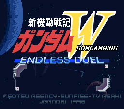 Gundam Wing Endless Duellogogame Games x Animes   Gundam Wing