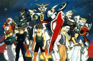 gundamwingpersonagens 300x197 Games x Animes   Gundam Wing