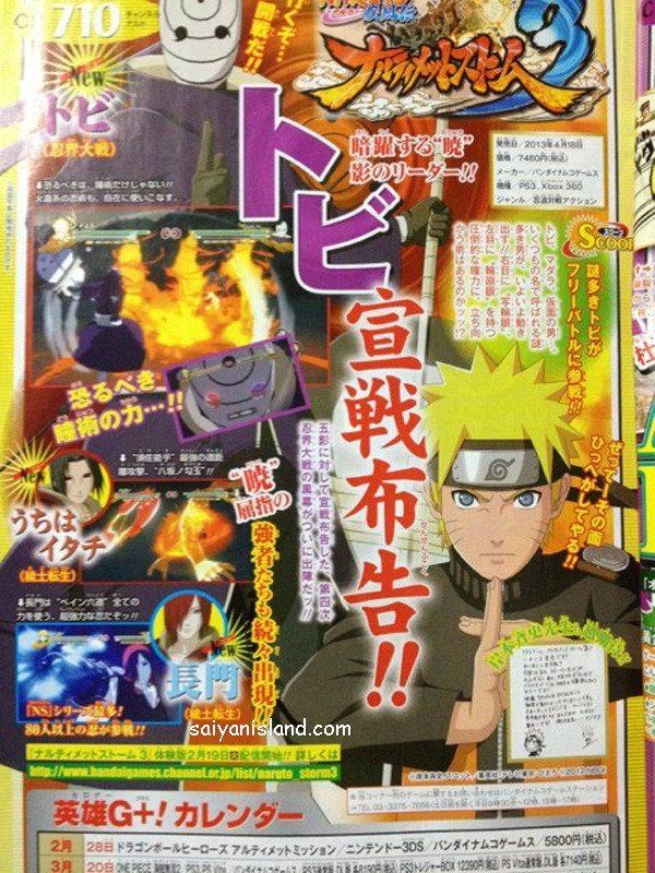 naruto1 Novos personagens em Naruto: Ultimate Ninja Storm 3