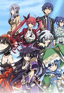 09. Date a Live Animes da Temporada de Primavera 2013