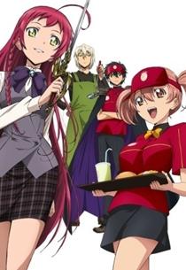 15. Hataraku Maou sama Animes da Temporada de Primavera 2013