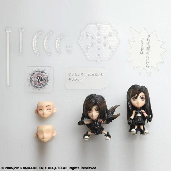Final Fantasy Tifa Noticias Anime United Play Arts Kai Planeja Figures para Agosto