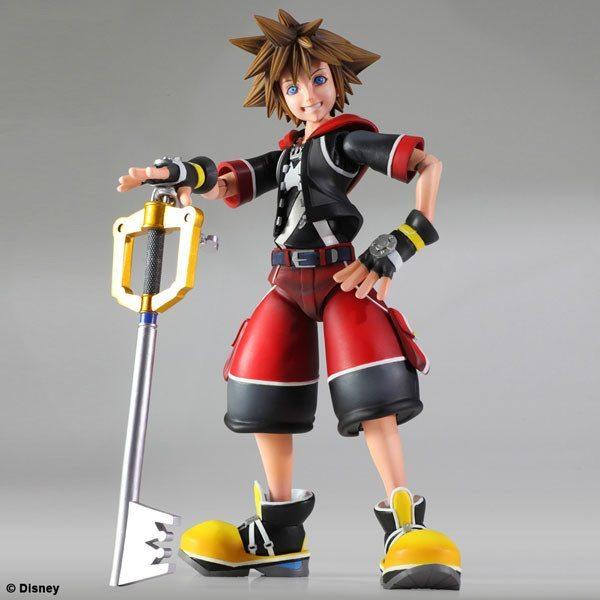 Sora Kingdom Hearts 3d Dream Drop Distance Noticias Anime United Play Arts Kai Planeja Figures para Agosto