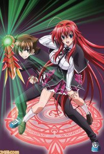 High School DxD 3DS 01 203x300 Jogo de Highschool DxD para Nintendo 3DS