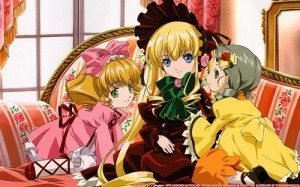 Ichigo Shinku Kanari girls rozen maiden long hair short hair 52117 300x187 TOP10 Animes Mahou Shoujo