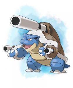 Mega Blastoise 250x300 Pokémon X e Y: Bulbasaur, Charmander e Squirtle estão de volta!