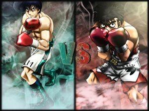 Hajime no Ippo 03 300x224 TOP Melhores rivais dos animes