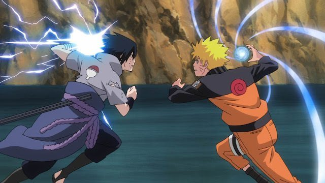 [Regra] Colisão de Habilidades & Lei do referêncial Naruto-Sasuke-NAU