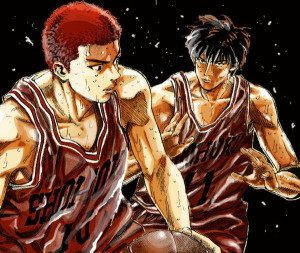 sakuragi rukawa NAU 300x253 TOP Melhores rivais dos animes