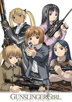 Gunslinger Girl Top 10: Animes de ação com armas?Recomendação?