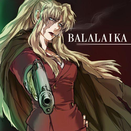 balalaika fanart 500x500 Top 10: Animes de ação com armas?Recomendação?