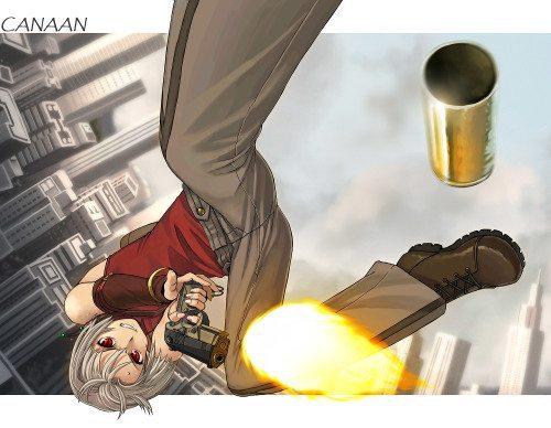cannan fanart 500x388 Top 10: Animes de ação com armas?Recomendação?