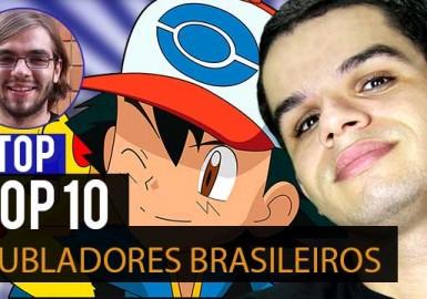 TOP 10 Dubladores Brasileiros de Animes - Notícias Anime United