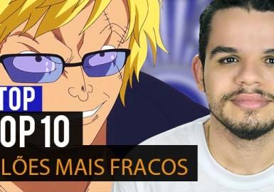 Ntop - TOP 10 Vilões mais Fracos