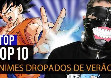 Ntop - TOP 10 Animes Dropados de Verão 2015