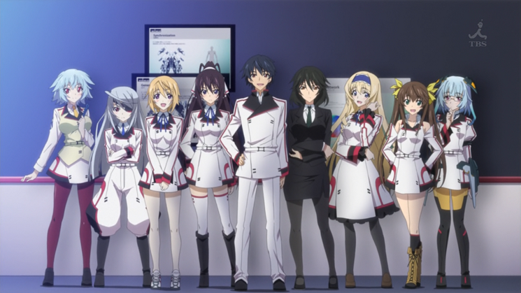 © IS: Infinite Stratos ( 8bit ) ecchi