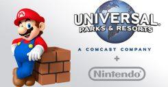 Nintendo e Universal Parks