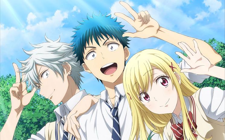 [7 Animes Indispensáveis] - Crunchyroll Yamada-Kun