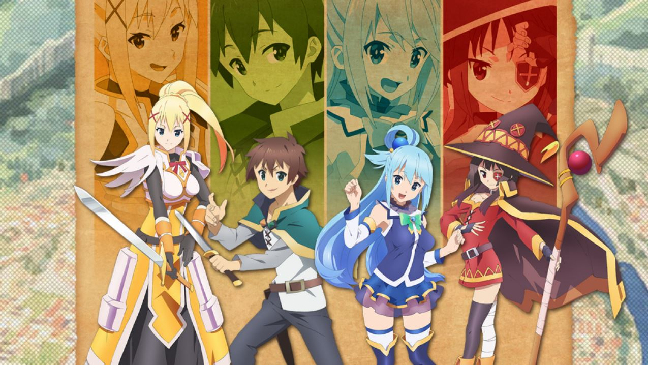 10 Animes de comedia