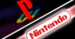 PlayStation e Nintendo Logo