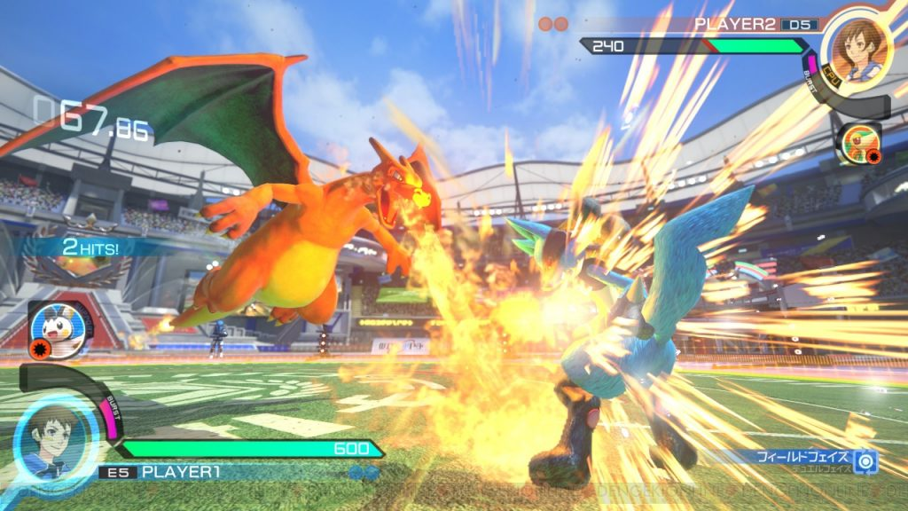 ©Pokken Tournament DX