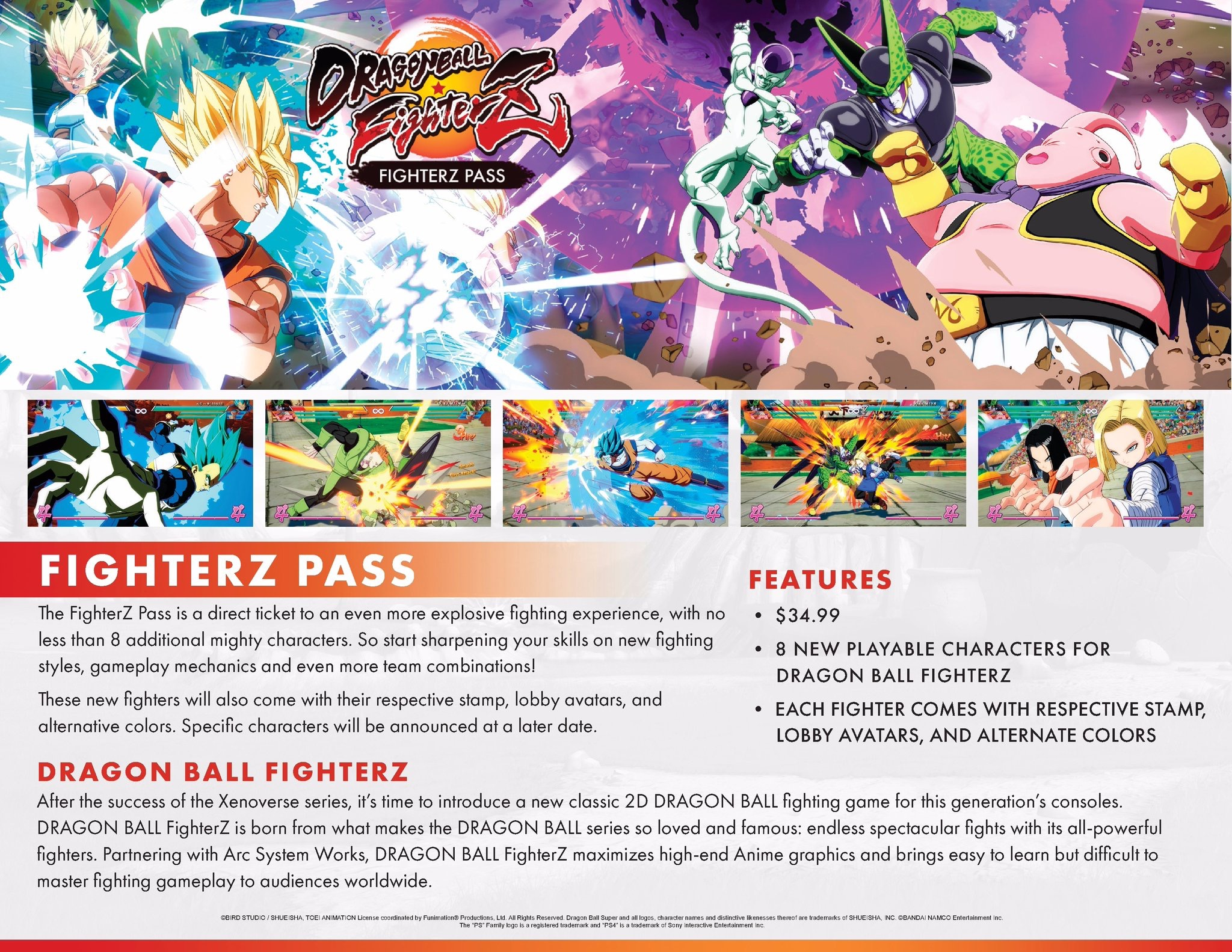 Dragon Ball Fighter Z Passe de Temporada