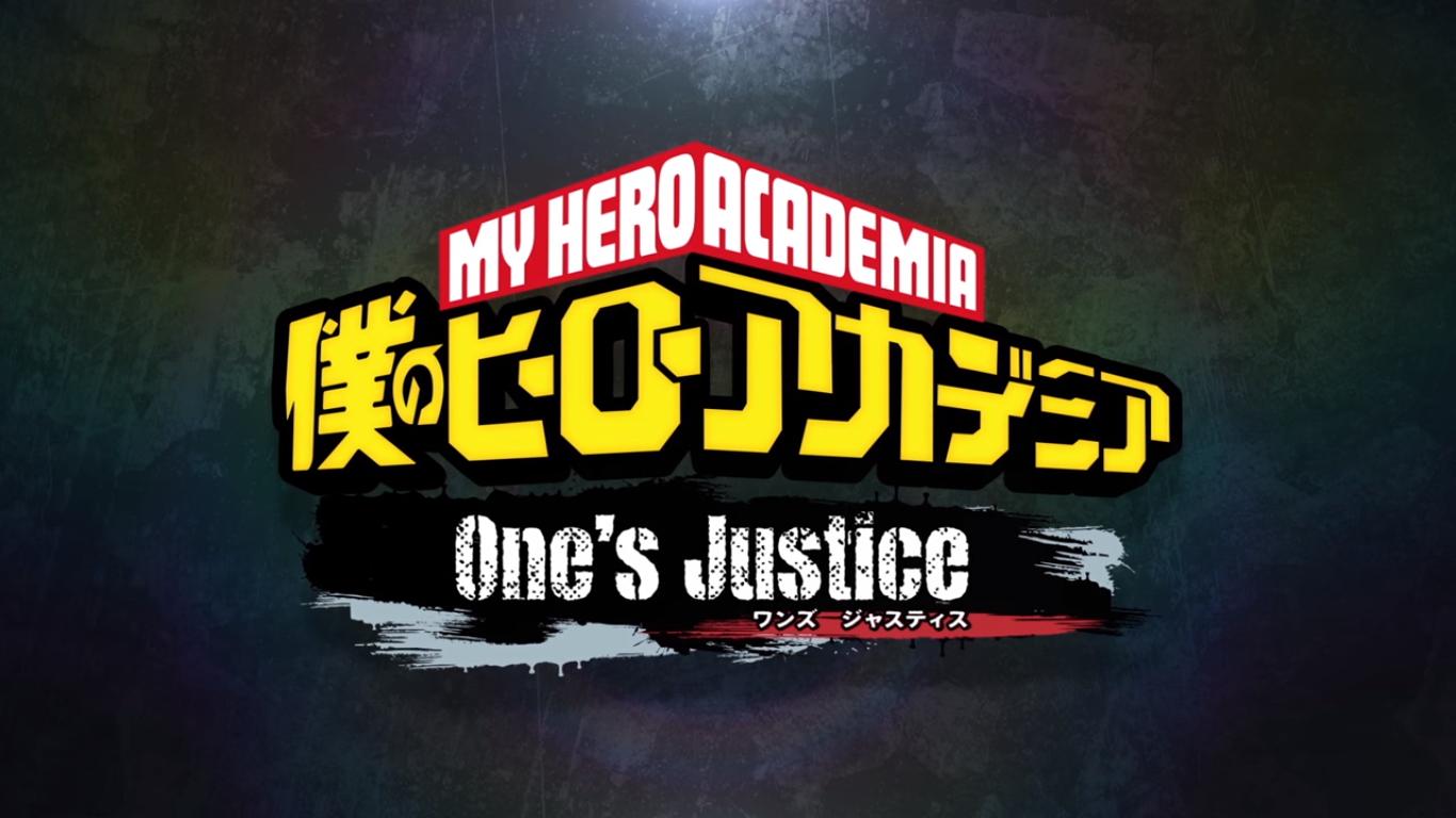 Boku no Hero Academia One's Justice