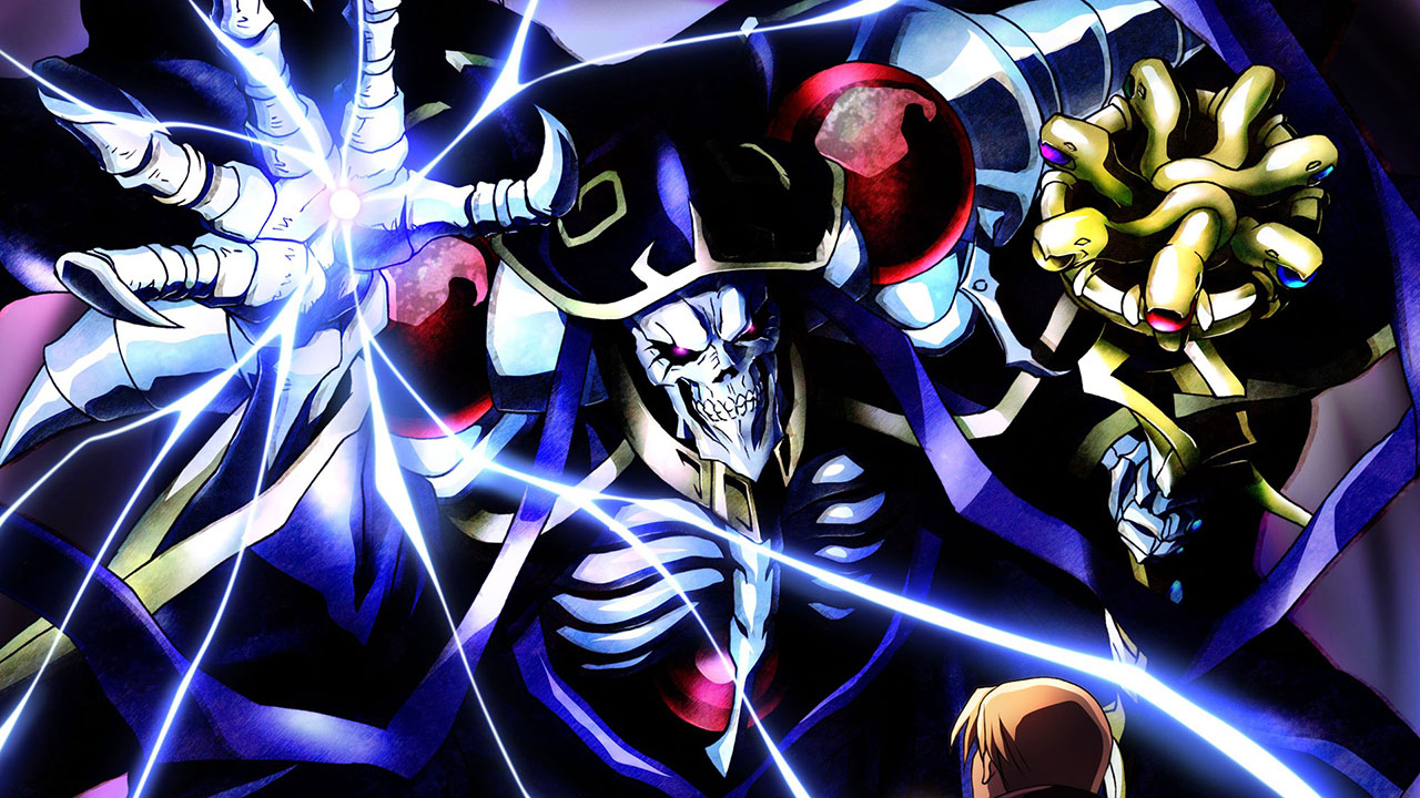 Os Herois / As Lendas - Fichas Com-overlord-anime