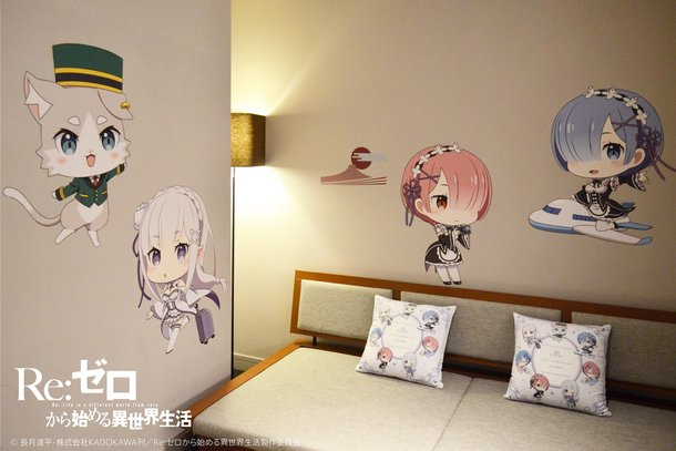 Re:Zero / Grids Akihabara Hotel + Hostel