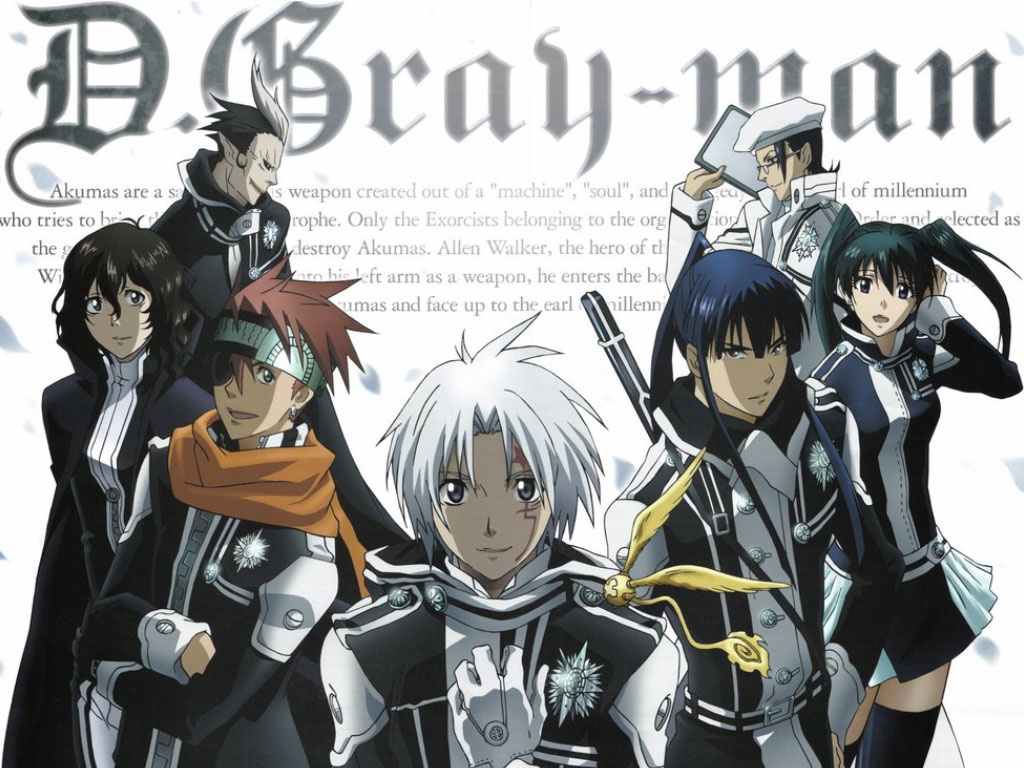 D.Gray-man capa