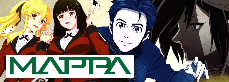 Картинки по запросу mappa studio animes