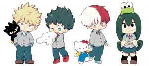 Boku no Hero/ Sanrio/ Toho