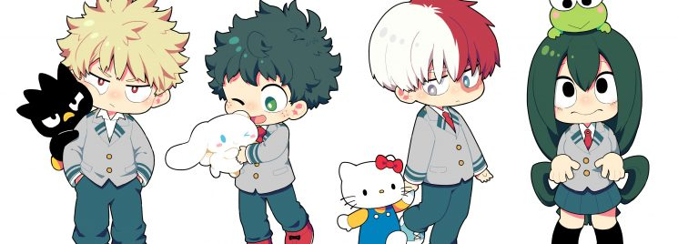 Boku no Hero/ Sanrio/ Toho