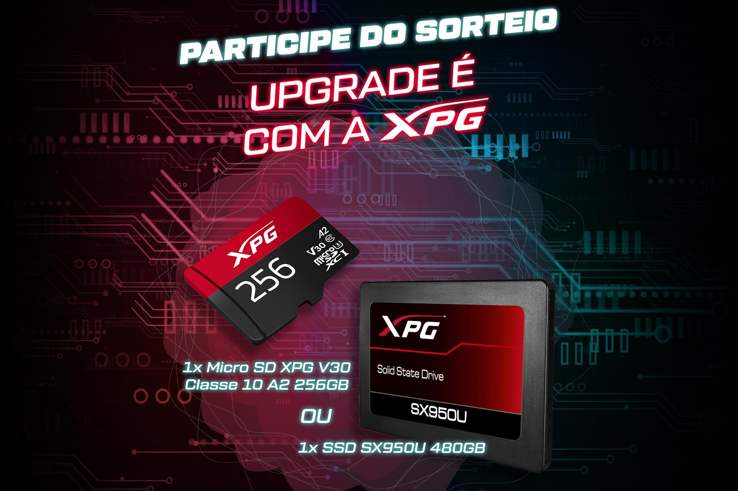 Sorteio Anime United / XPG