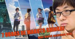 © 7 produções de Makoto Shinkai