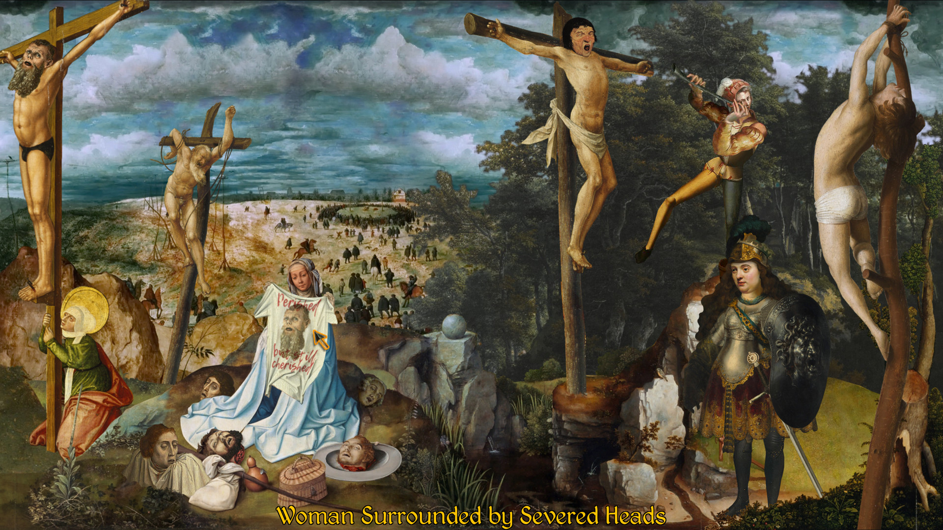 ©The Procession to Calvary