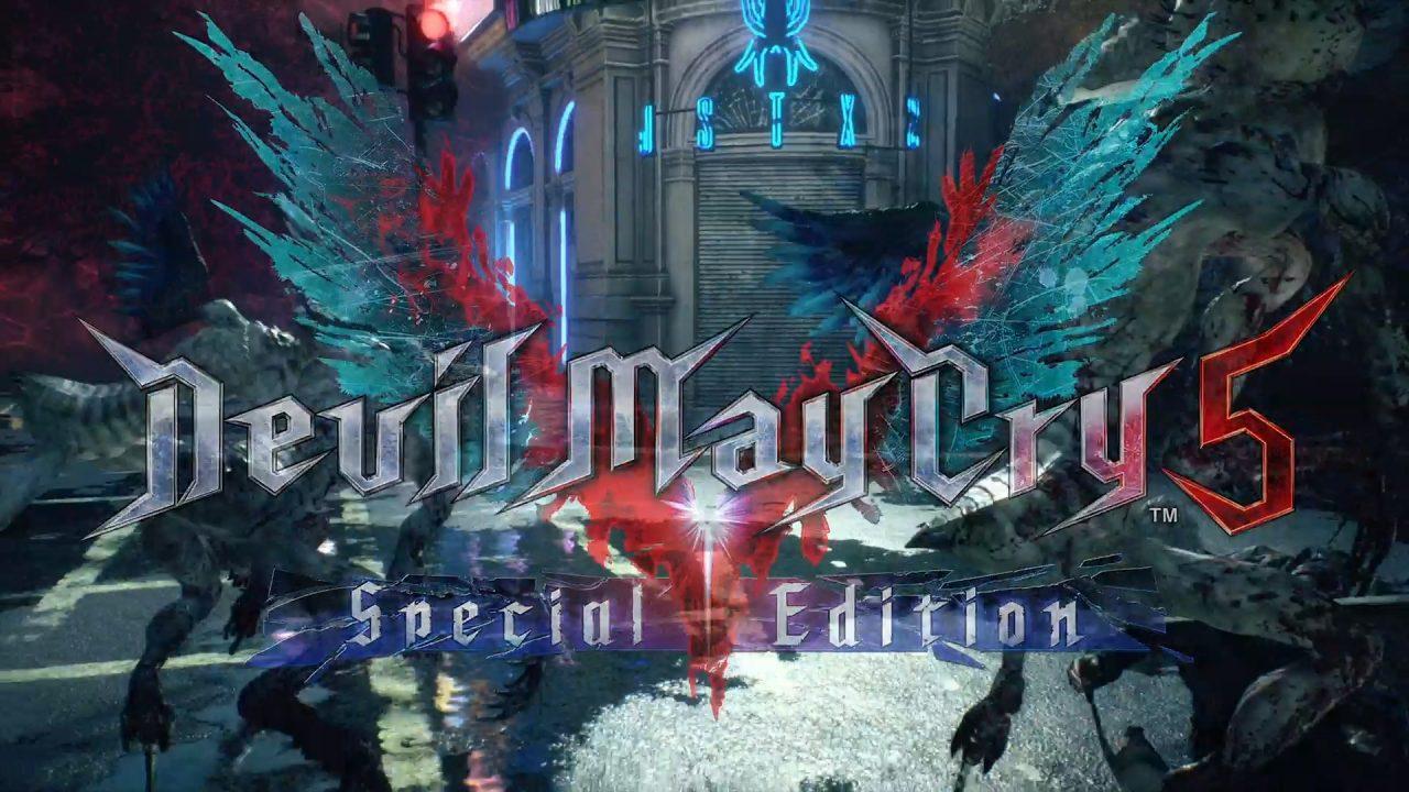 Devil May Cry 5 Special Edition anunciado para PS5 e Xbox Series