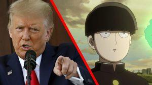 Donald trump / Mob Psycho 100