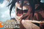 Attack On Titan 4 – Última temporada do anime chegará no outono na Crunchyroll