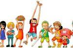 One Piece – Eiichiro Oda desenha os personagens como crianças